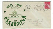 Load image into Gallery viewer, VEGAS - 1943 USA Submarine USS Bumper Keel Laid Cover - ED75