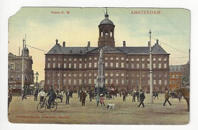 Early 1900s Netherlands Photo Postcard - Paleis H.M., Amsterdam (AL71)