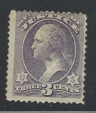 Load image into Gallery viewer, VEGAS 1873 USA Justice Official - Sc# O27 - Mint LH OG - Cat= $320 (DA37)