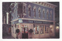 Load image into Gallery viewer, Vintage USA Disneyland Postcard - Upjohn Co. Old Fashoned Drugstore (AN24)