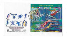 Load image into Gallery viewer, 1996 UN United Nations Vienna First Day Cover Sc # 207 Sport & Environment(CN90)
