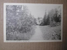 Load image into Gallery viewer, 1948 Canada Photo Postcard - Wildwood Lodge Cabins, Red Bay, Ontario-Read (ZZ24)