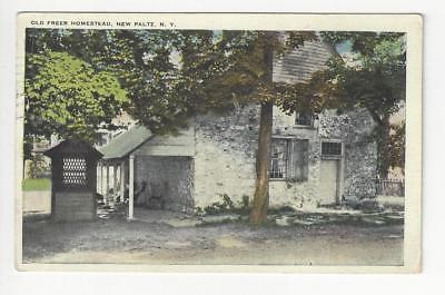 Posted 1931 USA Postcard - Old Freer Homestead, New Paltz, NY - (AU3)
