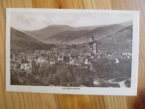 Vintage France Photo Postcard - Kaysersberg (YY128)