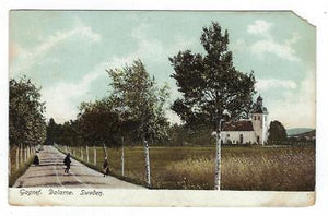 1908 Sweden Picture Postcard - Gagnef, Dalarne, Sweden - USA Posted - (AP27)