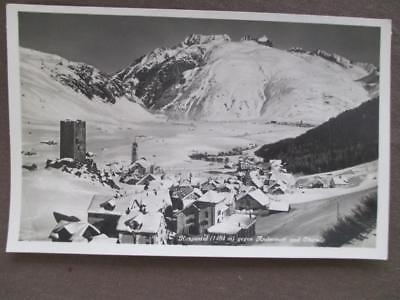 Vintage Switzerland Photo Postcard - Hospental - Andermatt & Oberal (UU135)