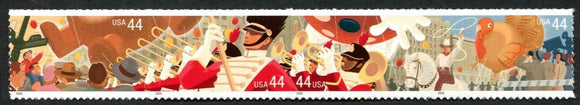 2009 Thanksgiving Day Parade Strip Of 4 44c Postage Stamps - Sc# 4417-4420 - MNH, OG - DC137