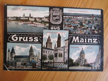 Load image into Gallery viewer, 1919 Germany Picture Postcard - Greetings From Mainz (YY5)
