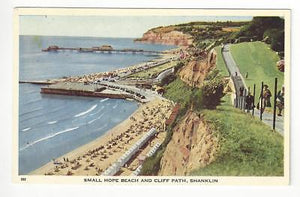 Vintage Great Britain Postcard - Hope Beach, Shanklin, Isle Of Wight (AN20)