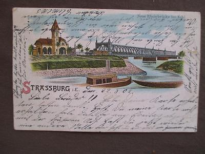 1902 Germany Picture Postcard - Greetings From Strassburg (VV112)