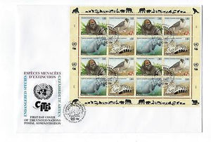 1993 UN United Nations Geneva Sc # 228-231 Full Sheet First Day Cover (CN105)