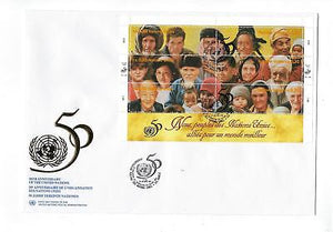 1995 United Nations Geneva- # 275 Full Sheet! Quality First Day Cover (CO98)