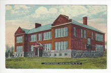 Load image into Gallery viewer, Posted 1914 USA Postcard - High School, New Berlin, NY - Read Rev (AT130)