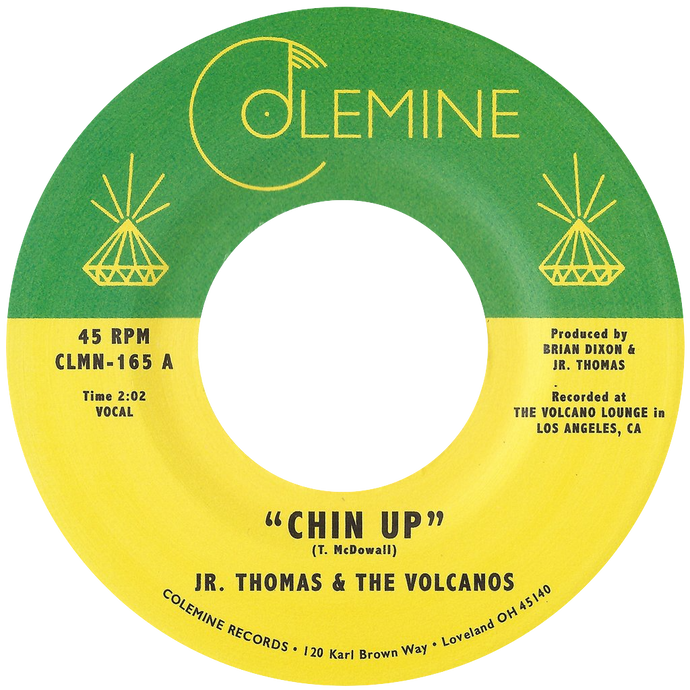 Jr Thomas & The Volcanos - Chin Up b/w Spellbound - Colemine 165