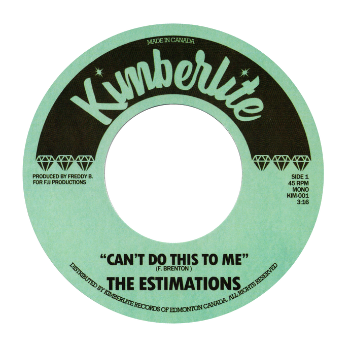 Estimations - Can't Do This To Me / Let Me Go - Kimberlite 001