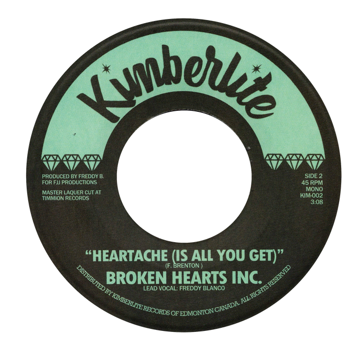 Broken Hearts Inc. - Please Don't Walk Away b/w Heartache (Is All You Get) - Kimberlite 002