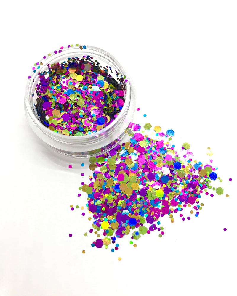 "Load image into Gallery viewer, ""FUNFETTI"" LOOSE CHUNKY GLITTER"