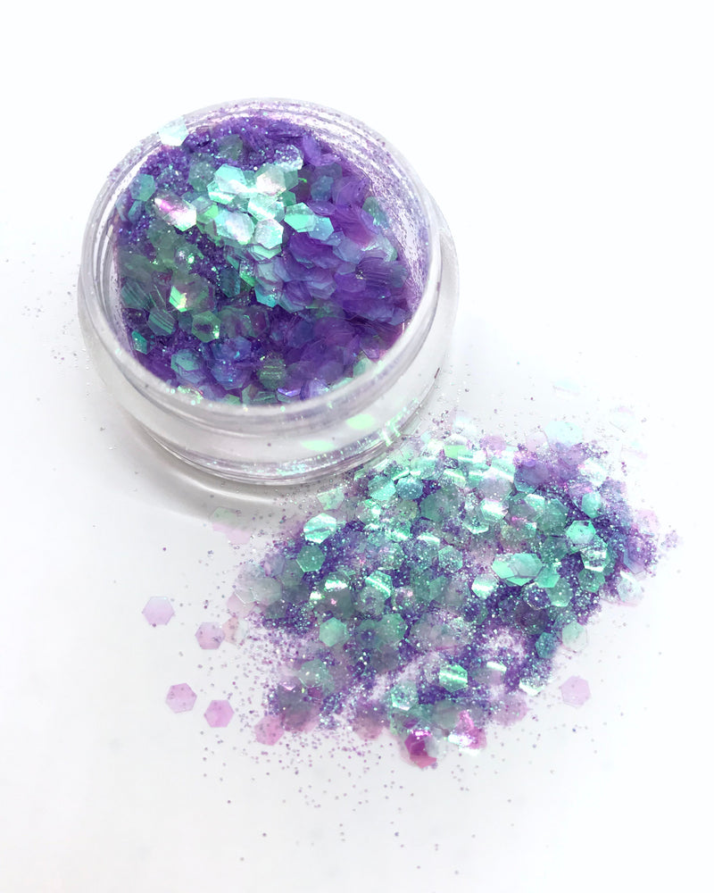 "Load image into Gallery viewer, ""FAIRY SECRETS"" LOOSE CHUNKY GLITTER"