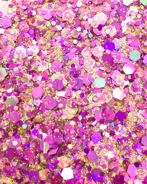 "Load image into Gallery viewer, ""PINK PARADE"" LOOSE CHUNKY GLITTER"