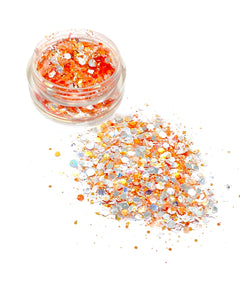"NEW! ""MANGO"" UV LOOSE CHUNKY GLITTER"