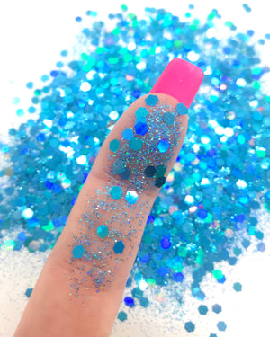 """PACIFIC PASSION"" LOOSE CHUNKY GLITTER"