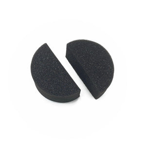 HALF CIRCLE APPLICATOR SPONGES