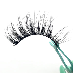 """RESTING BEACH FACE"" PREMIUM SILK LASHES"
