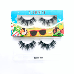 """RUN THE SHOW"" PREMIUM SILK LASHES"