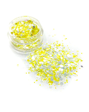 "Load image into Gallery viewer, ""PIÑA"" UV LOOSE CHUNKY GLITTER"
