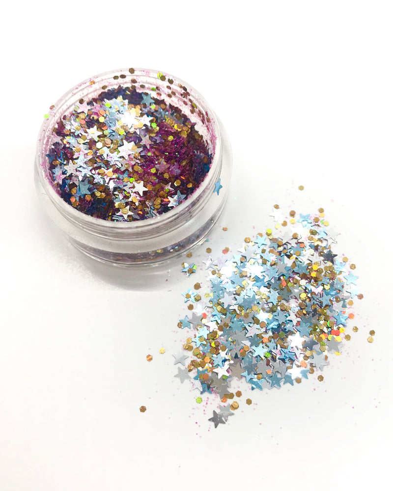 "Load image into Gallery viewer, ""MAJESTIC AF"" LOOSE CHUNKY GLITTER"
