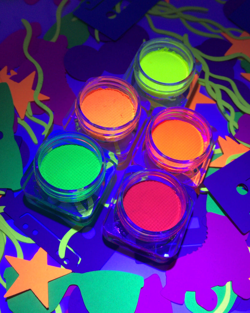UV NEON BUNDLE - 8 RETRO LINERS + LINER BRUSH 001