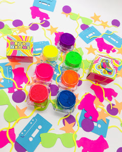 8 RETRO NEON PIGMENT BUNDLE