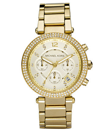 Michael Kors Women's Parker MK5780 Gold Watch 39mm