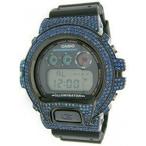 Koonce & Co Custom Avatar Gshock With Blue Zirconia Bezel