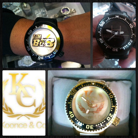 Koonce & Co Customized Logo Watches