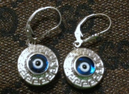 Greek Evil Eye Versace Earrings