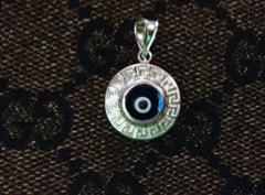 Greek Evil Eye Versace Pendant