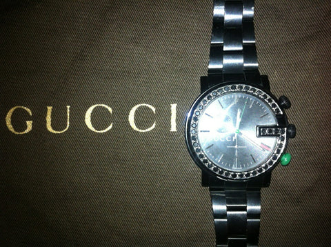 Gucci Chrono Watch Customized 5cts