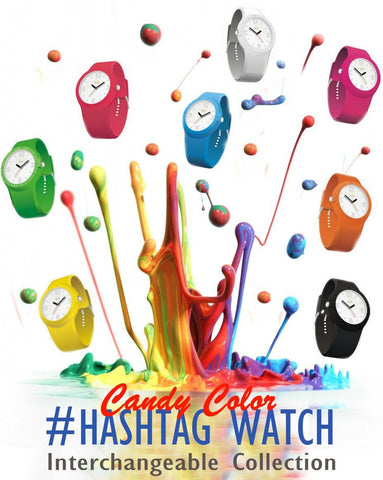 The Hashtag Interchangeable Watch