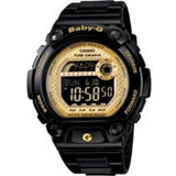 Baby-G Watch, Womens Digital BLX Series Black Resin Strap BLX100-1C