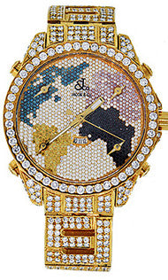 Jacob & Co World Map Diamond Diamond Watch