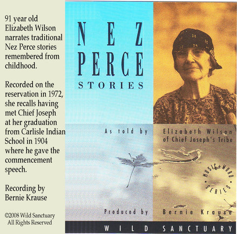 Nez Perce Stories