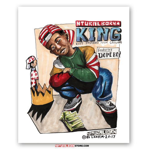 Young King Poster