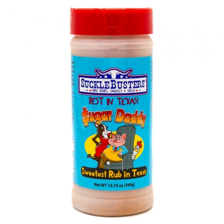 Sucklebusters Sugar Daddy BBQ Rub 13.75 oz