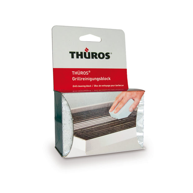 THUROS BBQ cleaning block,12pc, packed in one perforated packaging