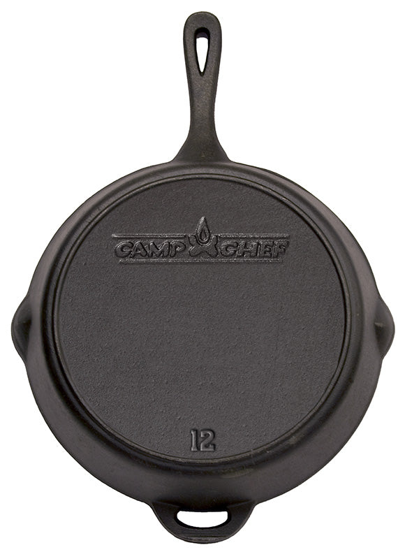 "Camp Chef 12"" Seasoned Cast Iron Skillet"
