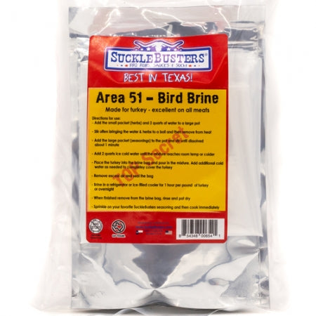 Sucklebusters Bird Brine Kit for Turkey