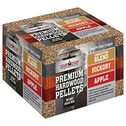 Camp Chef Premium Hardwood Pellets Variety Box  (Competition Blend, Apple, Hickory)