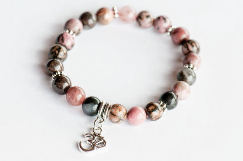 Single Stone Stackables - Gemstone Stretch Bracelets