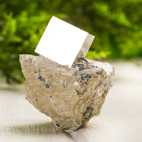Pyrite is also known as Fool's Gold